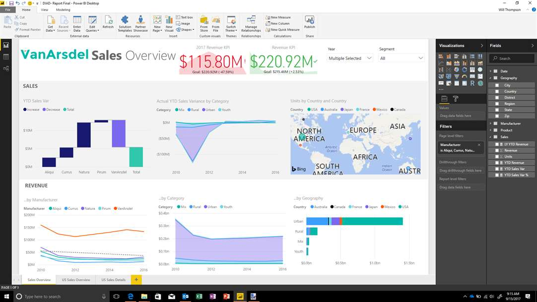 Microsoft Power BI Desktop App Becomes Available As A Windows 10 App