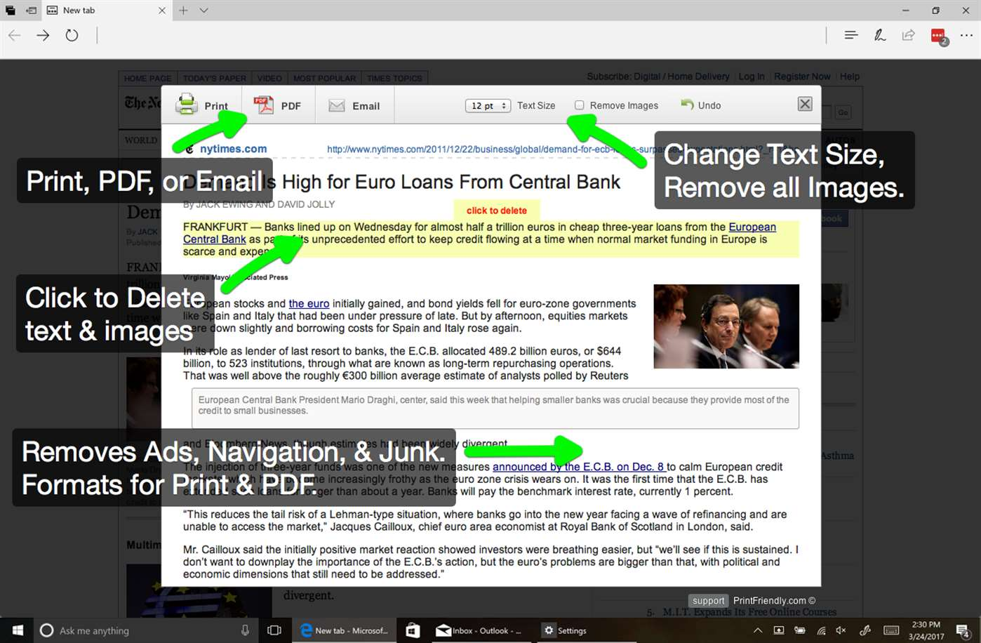 Manage & Use PDF's Easier With Edge Extension Add-On