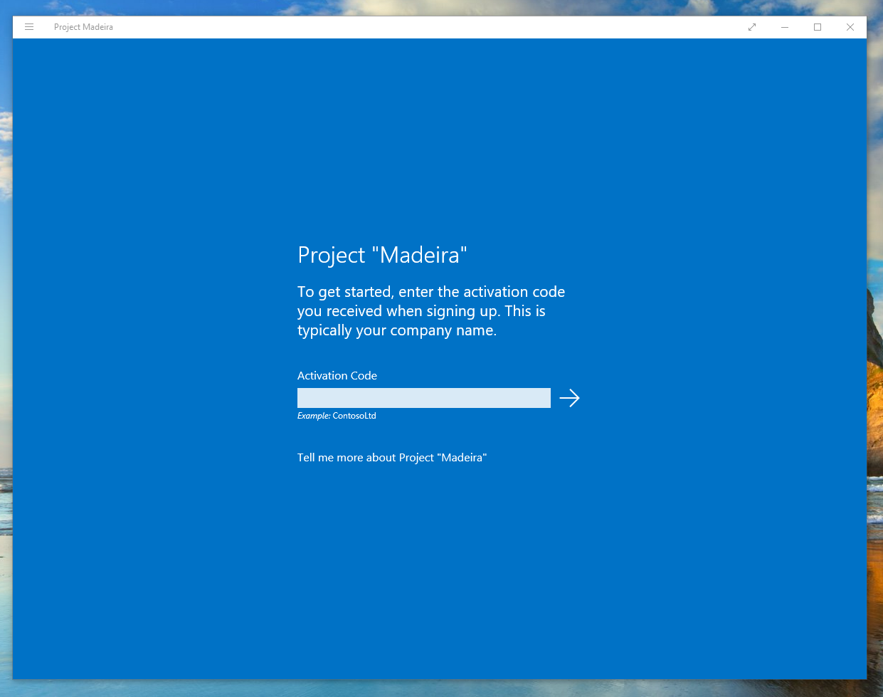 Microsoft Releases Windows 10 App For Project Maderia