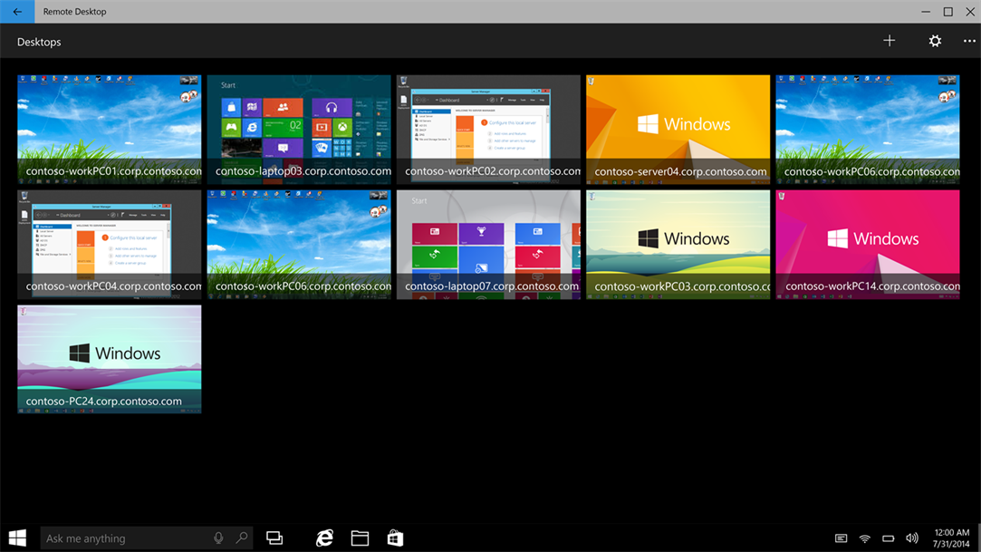 Microsoft Updates Remote Desktop Preview App On Windows 10