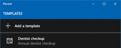 Manage Multiple Appointments With Revent On Windows 10
