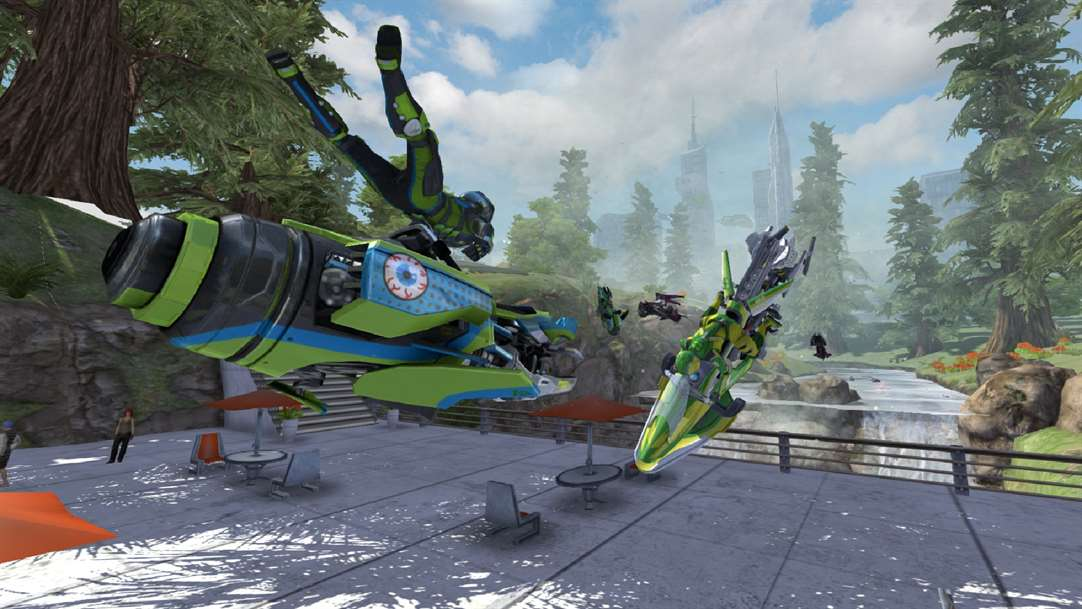 Fall & Cut Wild Turns With Riptide GP On Windows 10 PC's