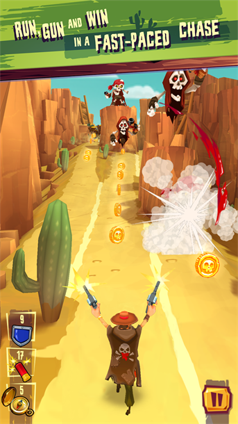 Fast Paced Fun Awaits With Run & Gun