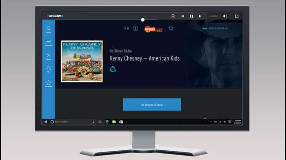 New SiriusXM App Launches For Windows 10
