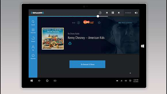Satellite Radio Users Of SiriusXM Can Enjoy Service With SiriusXM Windows 10 App