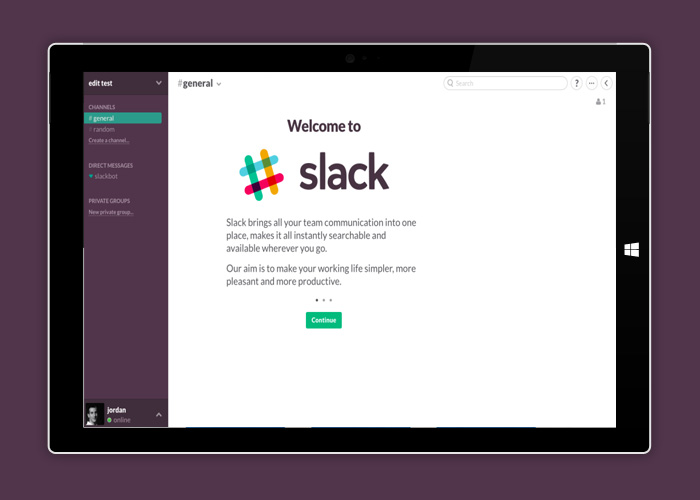 Slack Brings Windows 10 Office Collaboration To A New Level