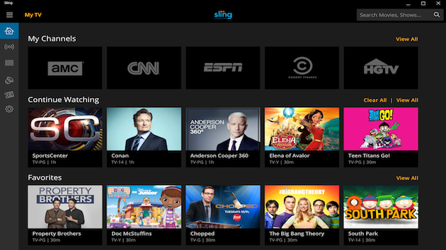 Sling TV App Arrives On Windows 10