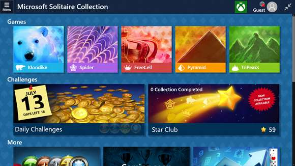 Microsoft Updates Solitaire Collection On Windows 10