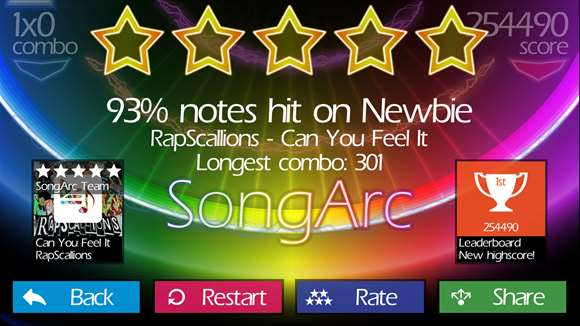 SongArc Lets You Hit Notes Via Fun Gameplay With Windows 10 Update