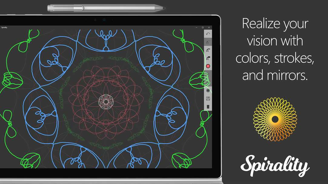 Doodle and Create With Spirality App