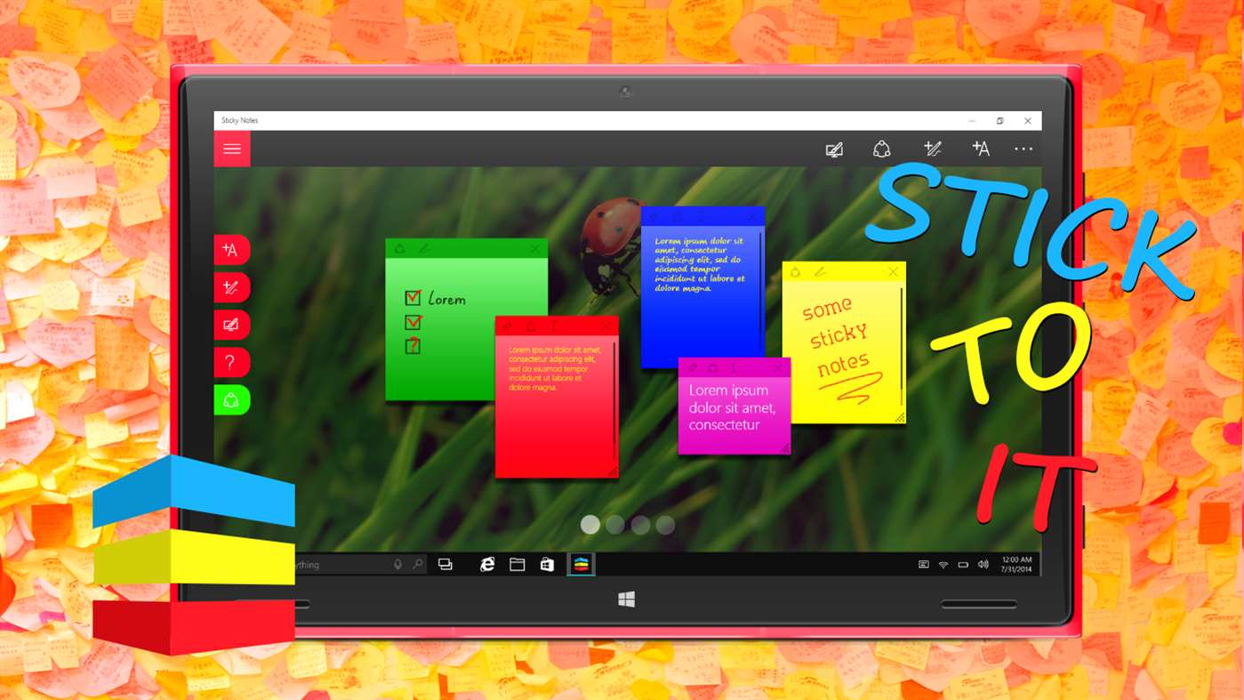 Remember Your Notes With Sticky Notes Pro