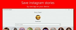 Save Instagram Stories With Story Saver On Windows 10