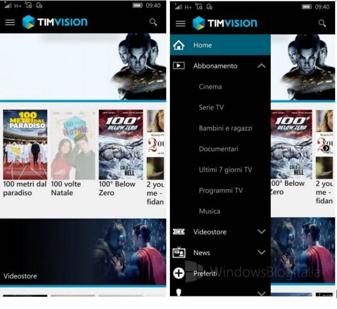 TIMVision's Mobile App Highlights Services For Italian Users