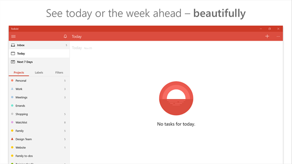 Todoist Makes Windows 10 Debut For Productivity Users