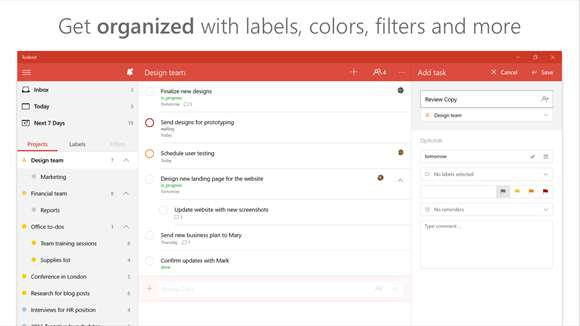 Todoist Gives Organization To Windows 10 Users On All Platforms