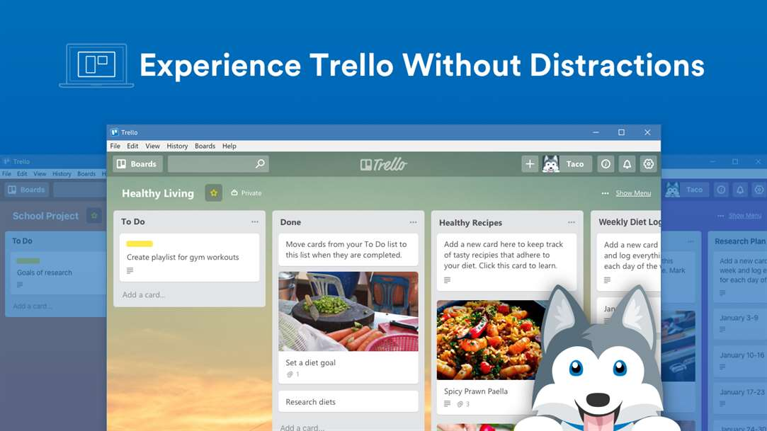 Trello Comes To Windows 10 Desktops With New App