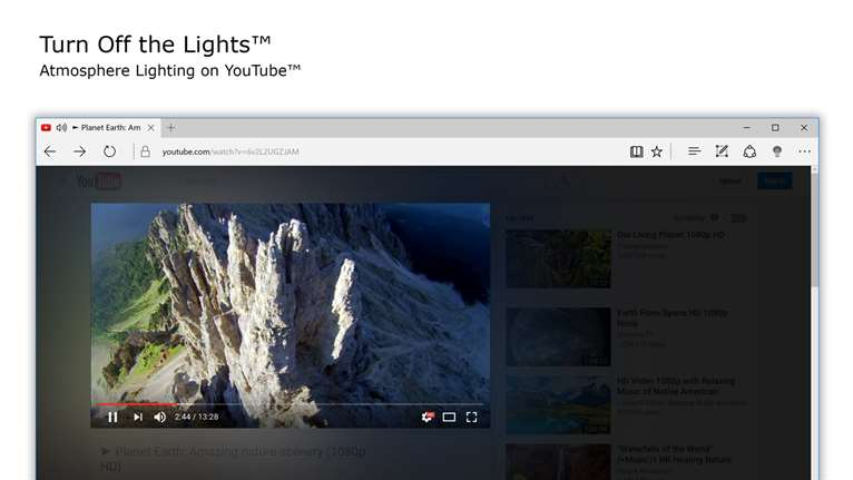 Optimize YouTube Viewing With Turn Off The Lights App On Windows 10
