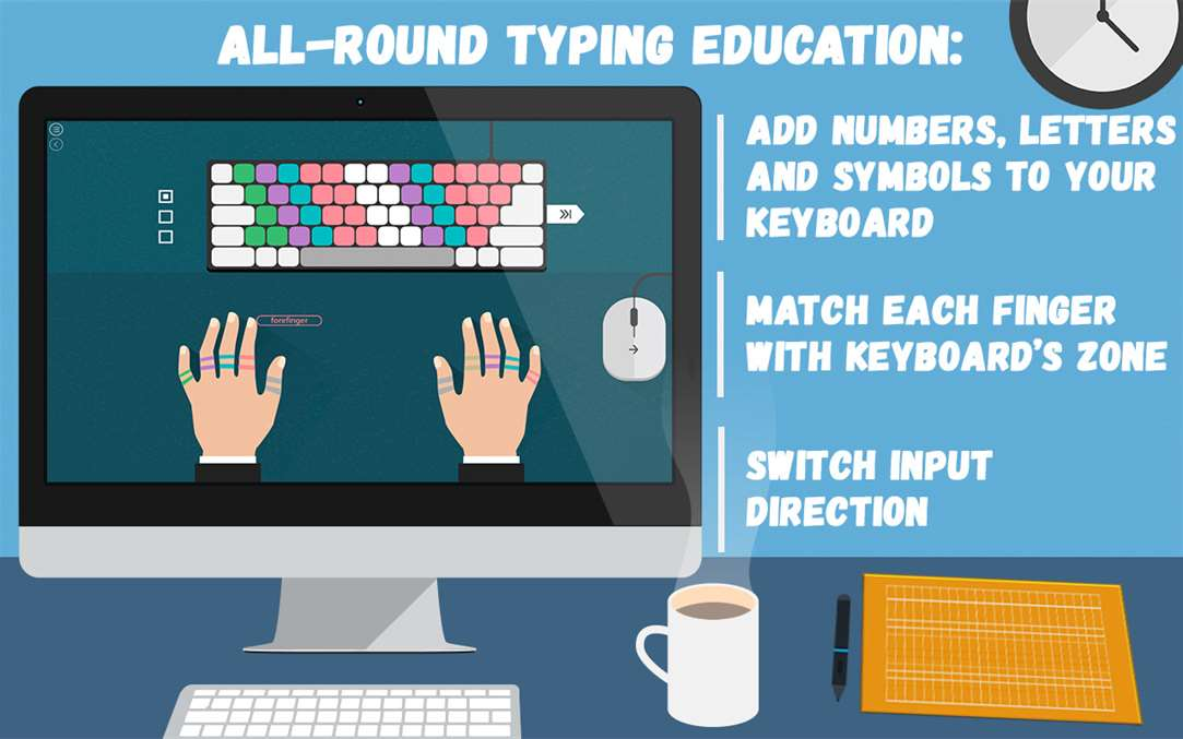 All Around Typing Lessons Are Learned With Masters Of Typing 2