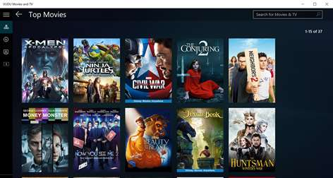 Enjoy TV & Movies On VUDU App For Windows 10 Devices