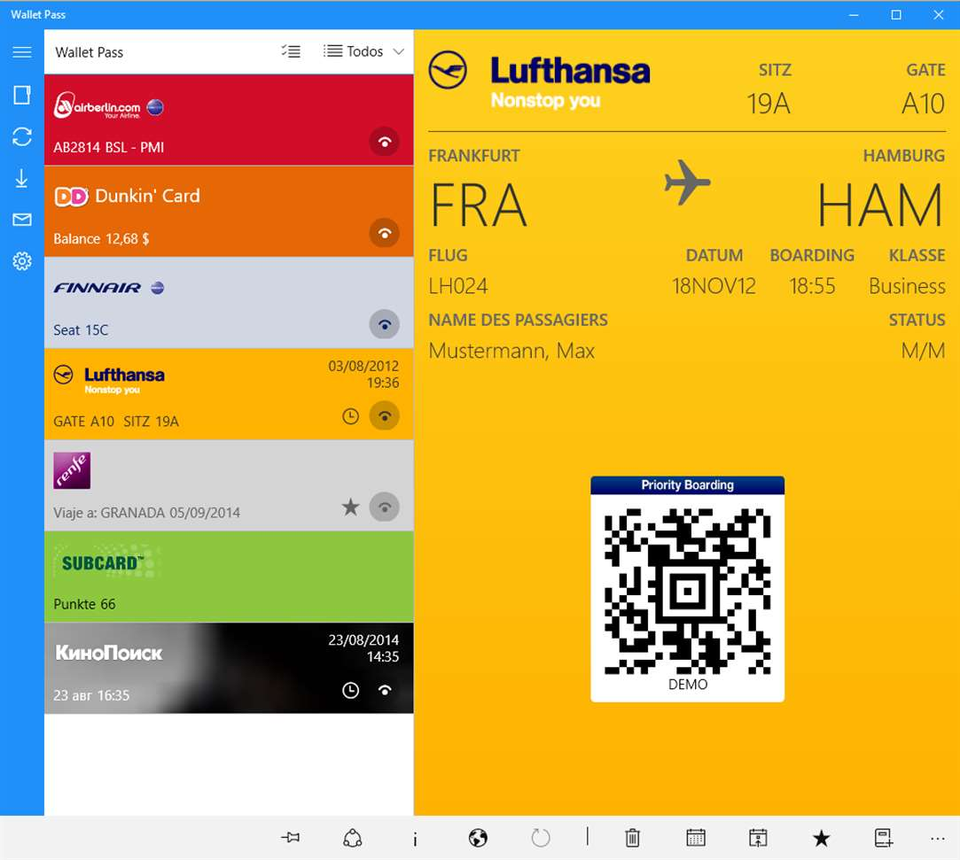 Wallet Pass Lets You Manage Passbook Files Easily On Windows 10 Devices