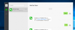 WeChat App Goes Official For Windows 10