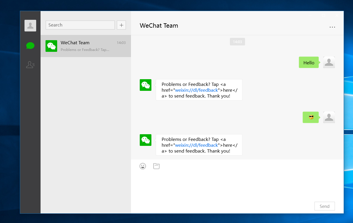 WeChat App Goes Official On Windows 10