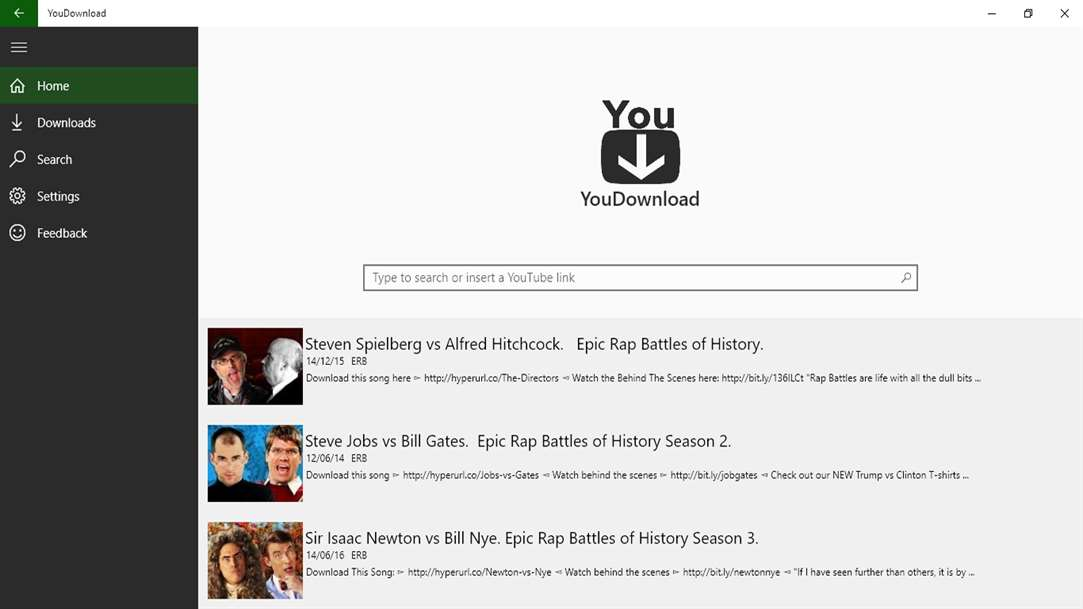 Download & Convert YouTube Videos With YouDownload