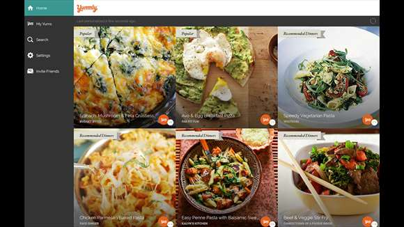 Yummly Launches App Solely For Windows 10 Users