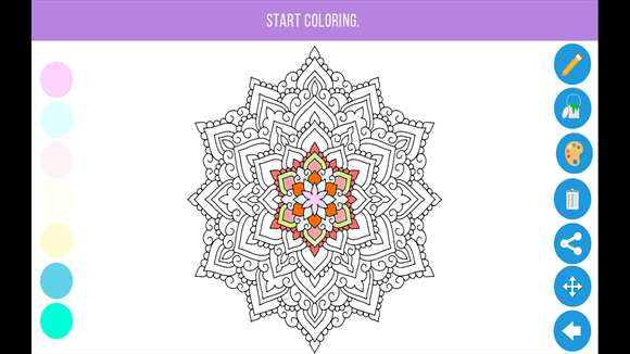 Zen Gives Coloring Fun To Adults With Windows 10 Fun