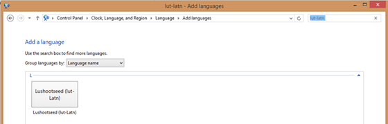 7,000 Languages With Windows 8.1