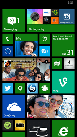 Microsoft Shows Off Live Folders In Windows Phone 8.1 Update