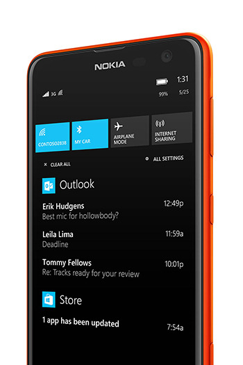 Microsoft Rolls Out Windows 8.1 Update To Lumia Phones