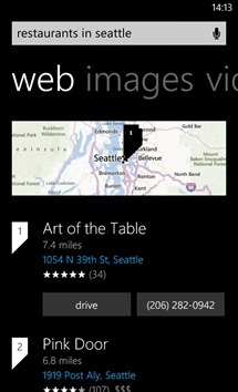 Bing Search For Windows Phone 8 Updated By Microsoft