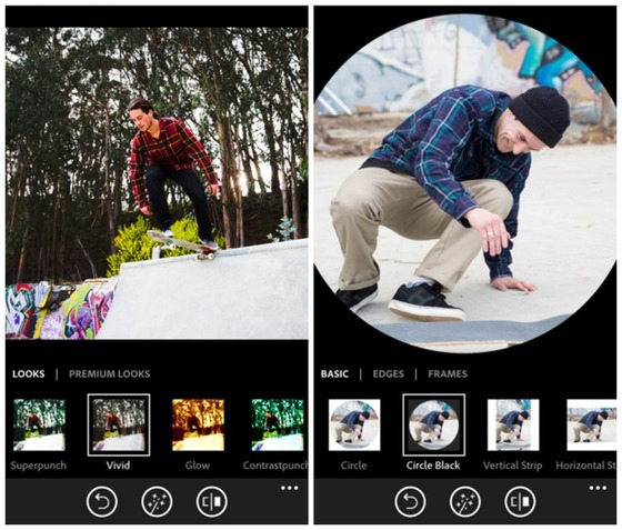 Microsoft Shows Off Adobe Photoshop Express For Windows Phone