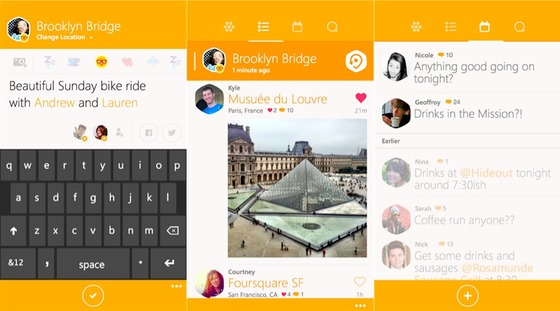 Microsoft Highlights Swarm As Hot Windows Phone 8.1 Pick