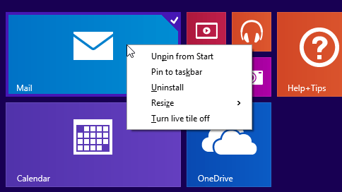 Microsoft Delivers Context Menus With A Right-Click In Windows 8.1 Update