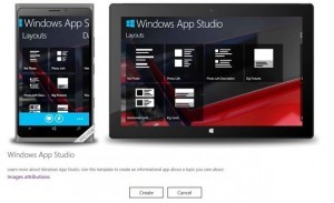 Windows App Studio Gets Major Update