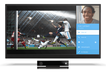 Microsoft Shows Off Skype In Snapped Portion Of Screen On Xbox One