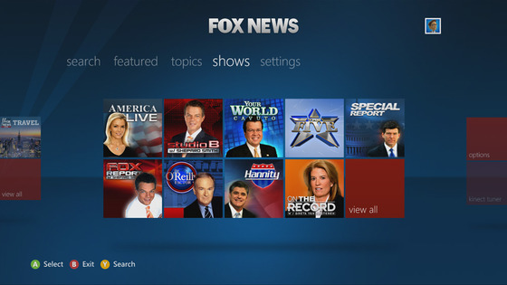 Fox News Comes To Xbox 360