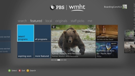 PBS Comes To Xbox 360 And Xbox Live Gold