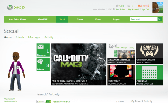 Xbox.com Includes Xbox One Features And Game Clips Starting Next Week