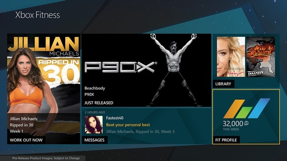 Xbox Fitness Launches For Xbox One