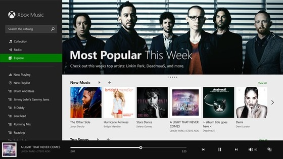 Xbox Music For Windows 8.1 Detailed