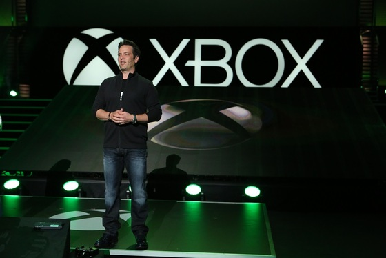 Microsoft's Phil Spencer Takes Stage At E3 Expo In LA