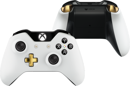 Microsoft Shows Off White Lunar Xbox One Controller