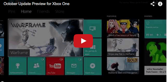 Microsoft's Major Nelson Releases Dish On October Xbox One News