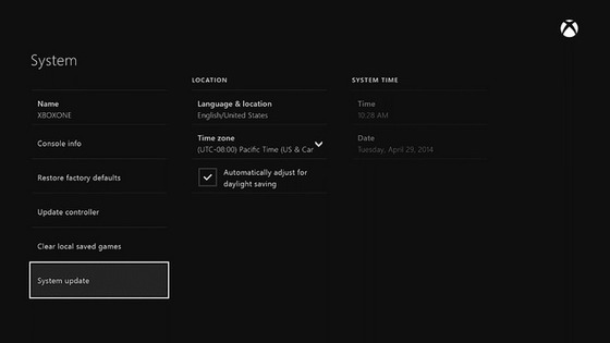 Microsoft Shows Off System Update and Sound Updates For Upcoming Xbox One Updates