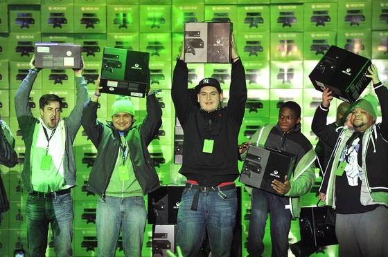 Microsoft Sells One Million Xbox One Consoles In 24 Hours