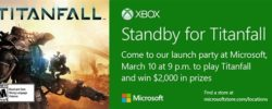 Microsoft Hosts Titanfall Launch Parties In Retail Stores