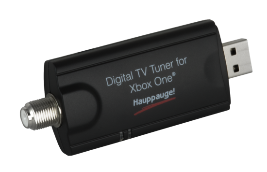 Microsoft's Digital TV Tuner Via Hauppauge Released For Xbox One